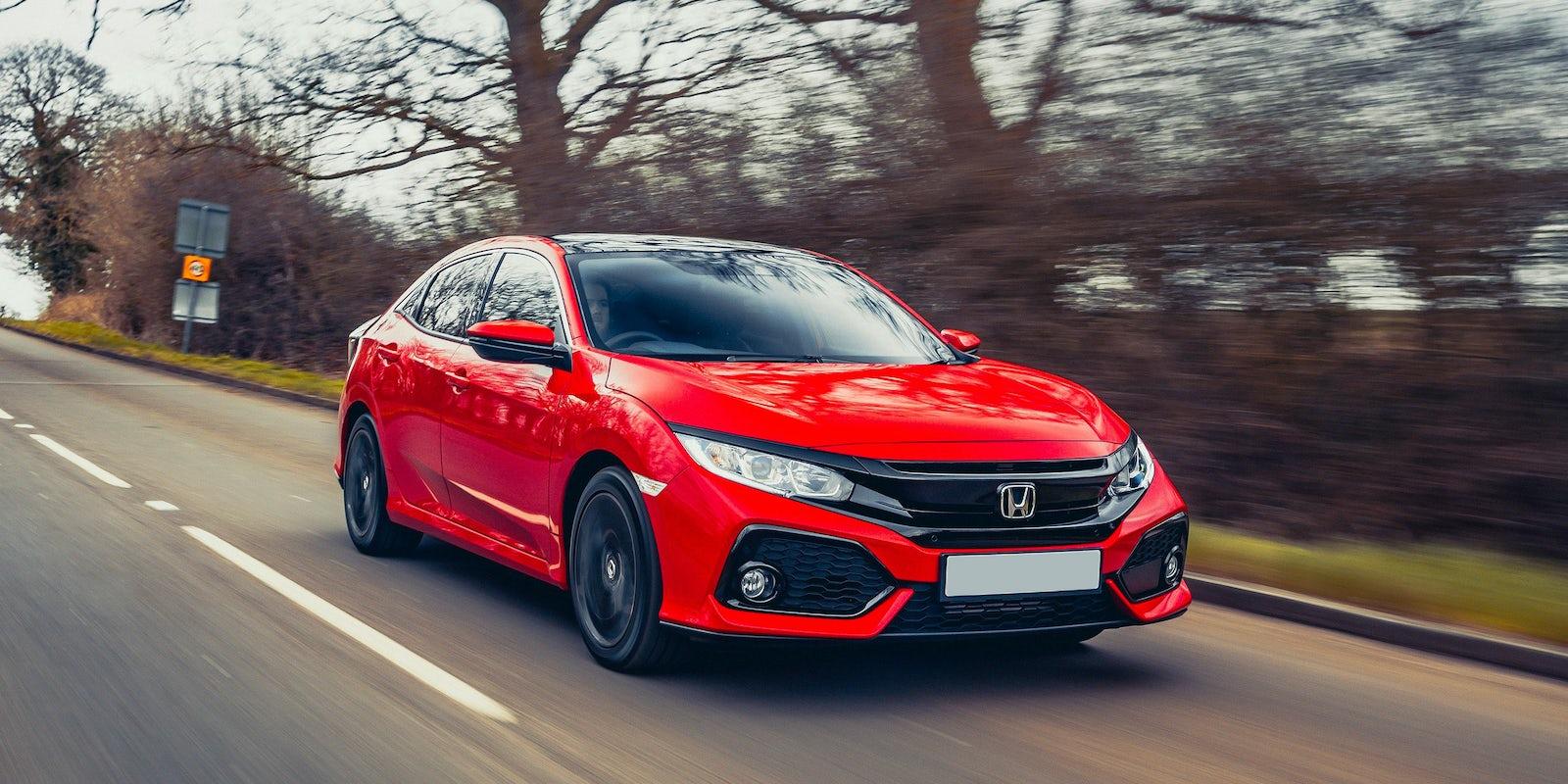 Honda civic review carwow for Honda fit 0 60