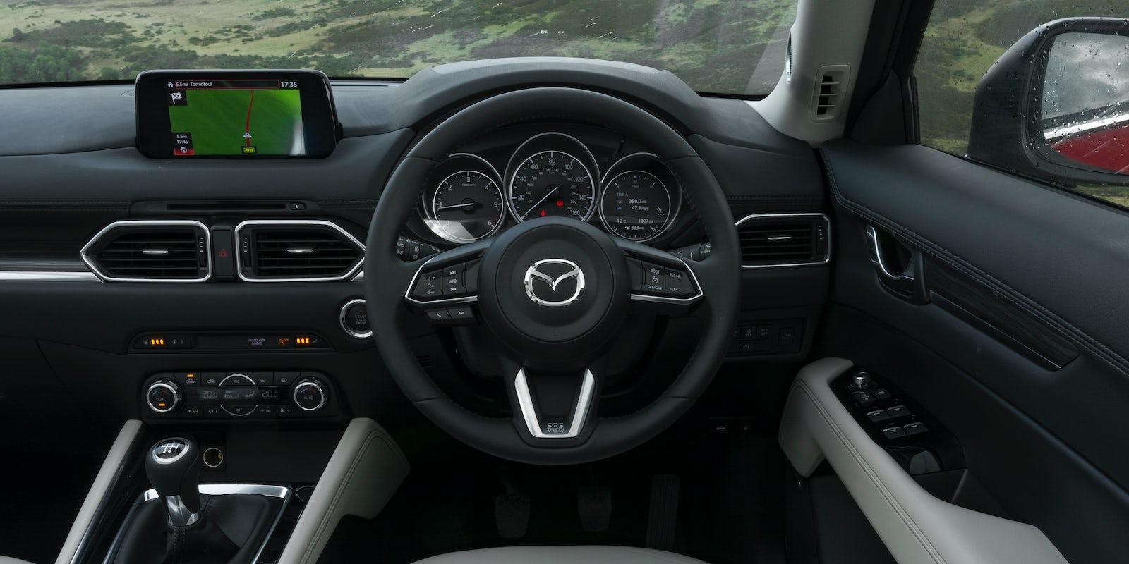 Mazda Cx 5 Interior Amp Infotainment Carwow