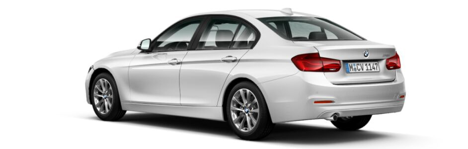 Mineral White BMW 3 Series