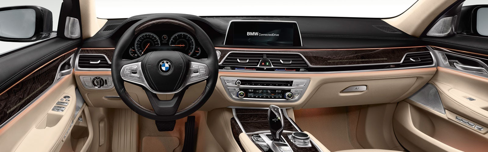 The Interior Could Borrow Some Elements From Current 7 Series Shown Here
