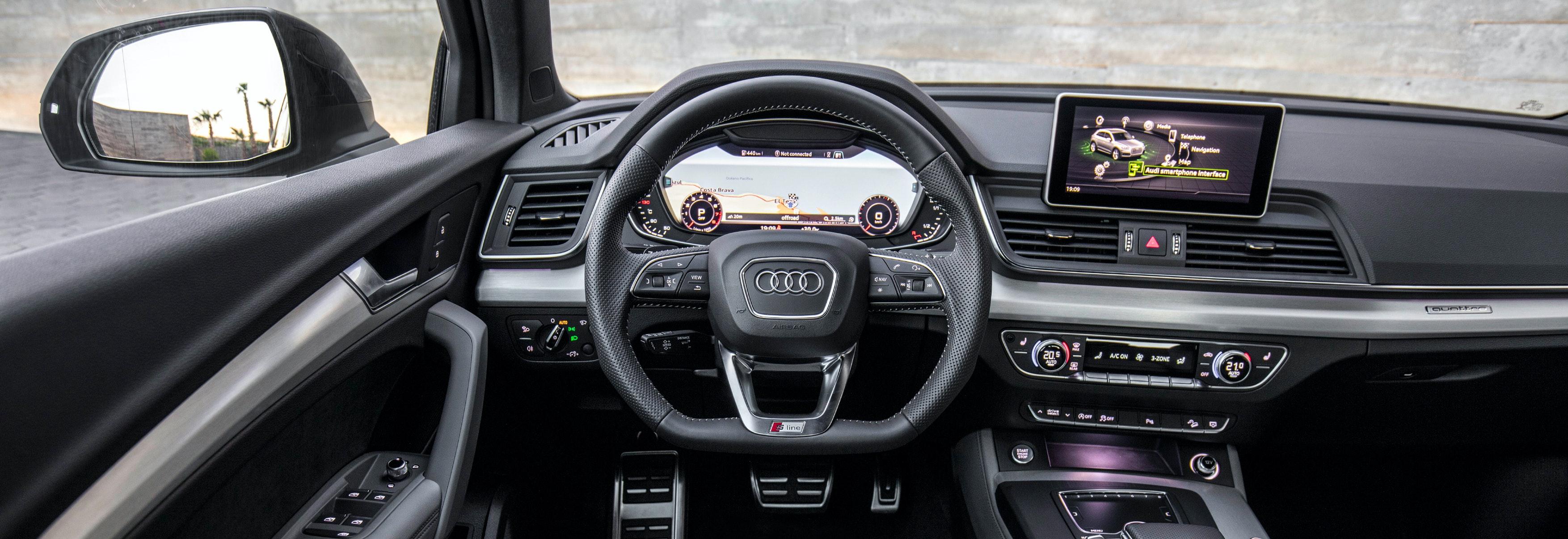 Jaguar F Pace Exterior >> Audi Q5 dimensions guide – UK exterior and interior sizes | carwow