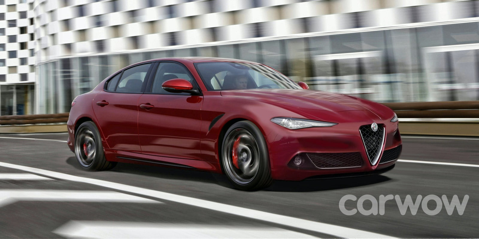 Alfa Romeo Alfetta Larger Giulia Price Specs And Release Date Series 1 Rumours Suggest Will Build A Bmw 5 Rival Thought To Be Called The It Could Get Petrol Plug In Hybrid Power
