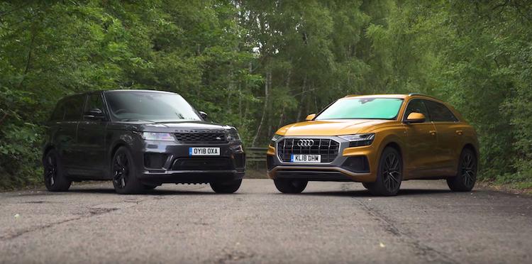 Audi Q8 Vs Range Rover Sport Video