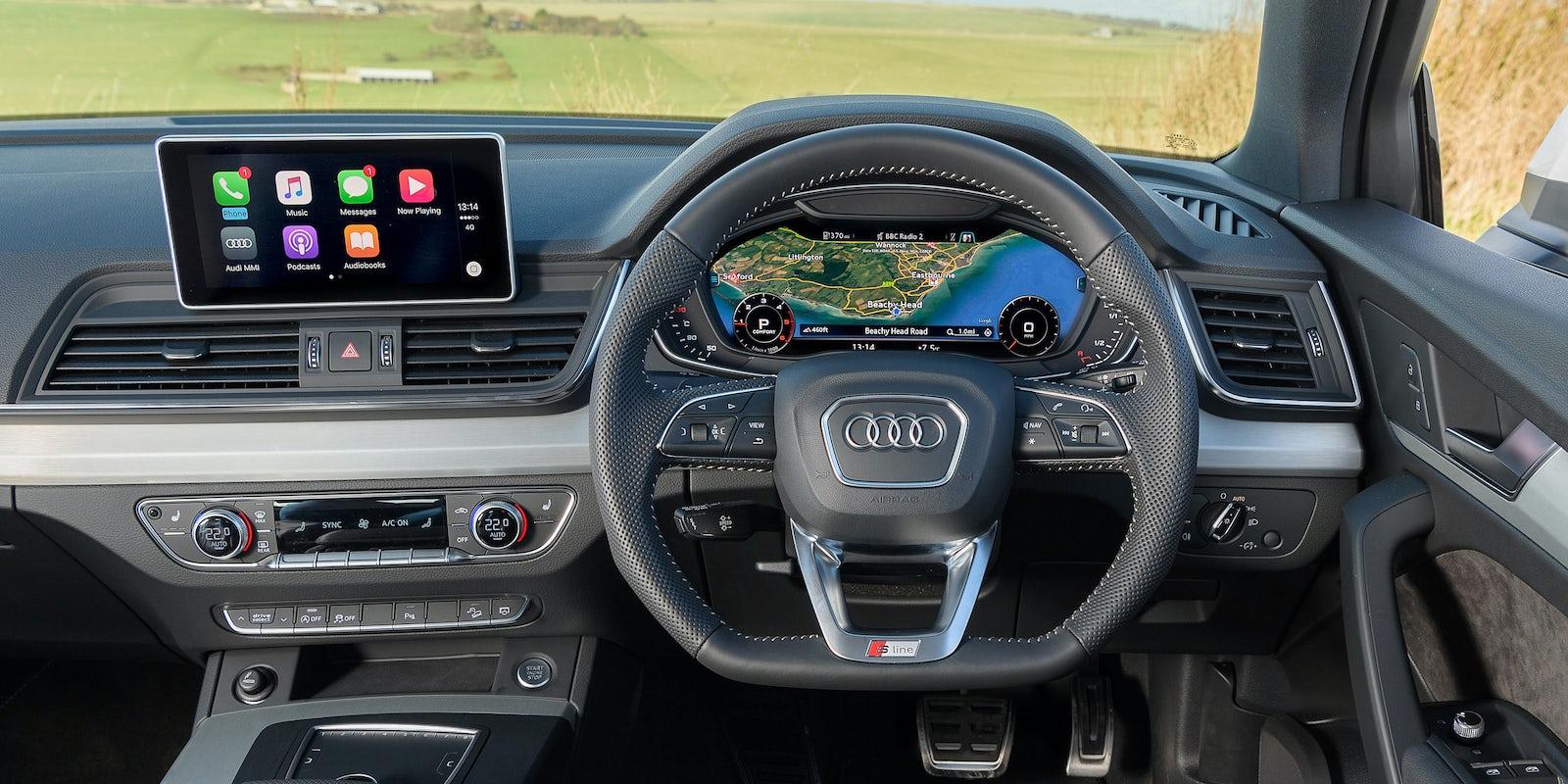 Audi Q Interior Infotainment Carwow - Audi q5