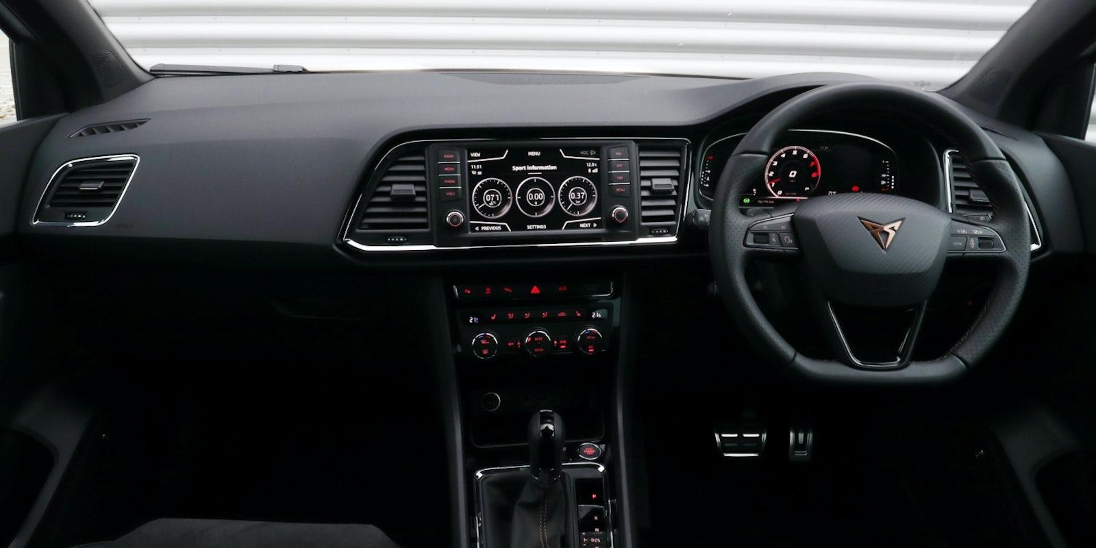 Seat Cupra Ateca Interior Amp Infotainment Carwow