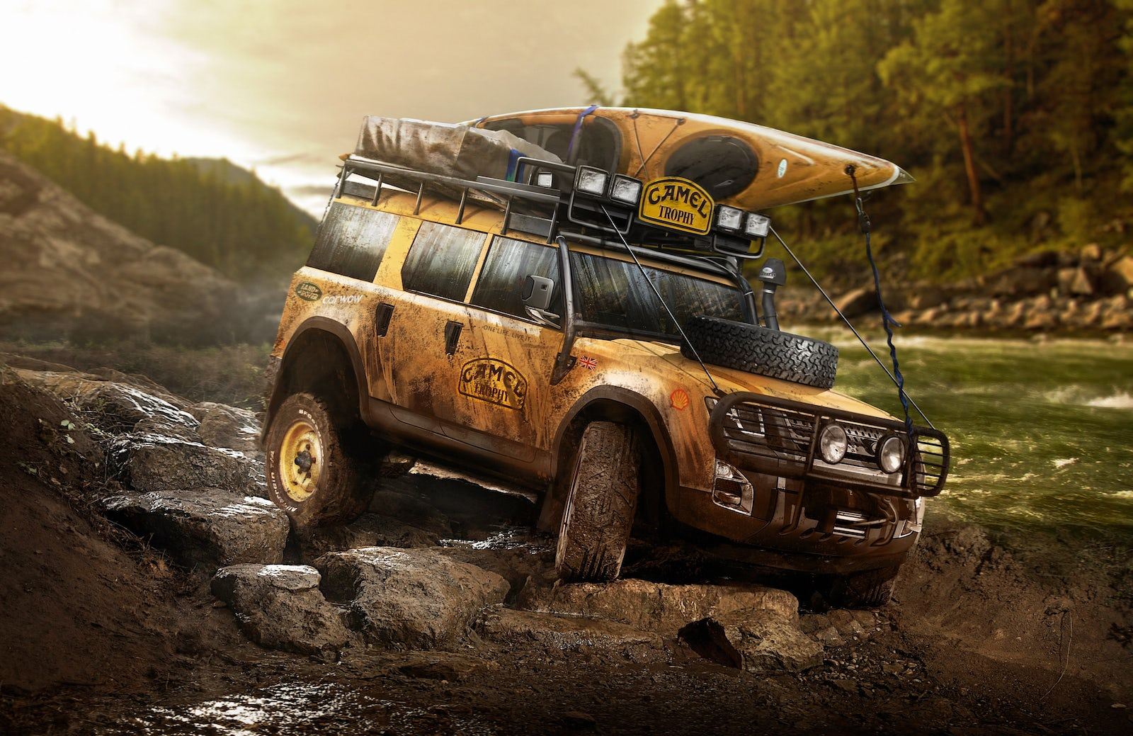 could the new land rover defender look like this?   carwow