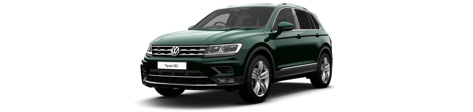 Moss Green VW Tiguan