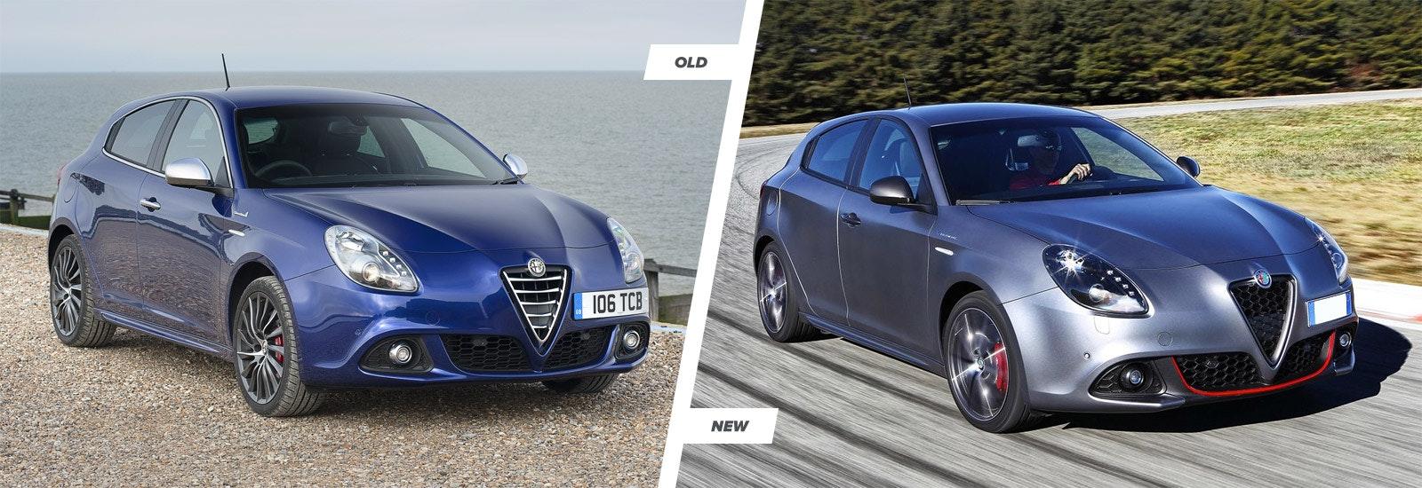 Alfa Romeo Giulietta Facelift Old Vs New Carwow