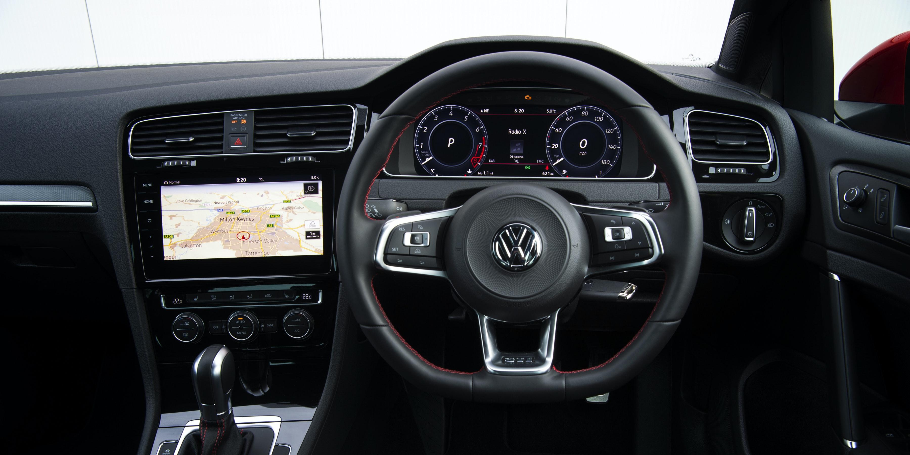 Volkswagen Golf Gti Interior Amp Infotainment Carwow