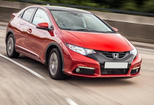 New honda cars reviews of honda models carwow for Honda fit 0 60