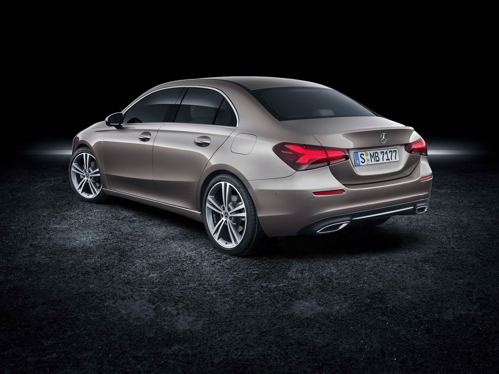 2019 mercedes a class saloon price specs and release date carwow. Black Bedroom Furniture Sets. Home Design Ideas
