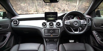 Mercedes GLA interior and infotainment | carwow