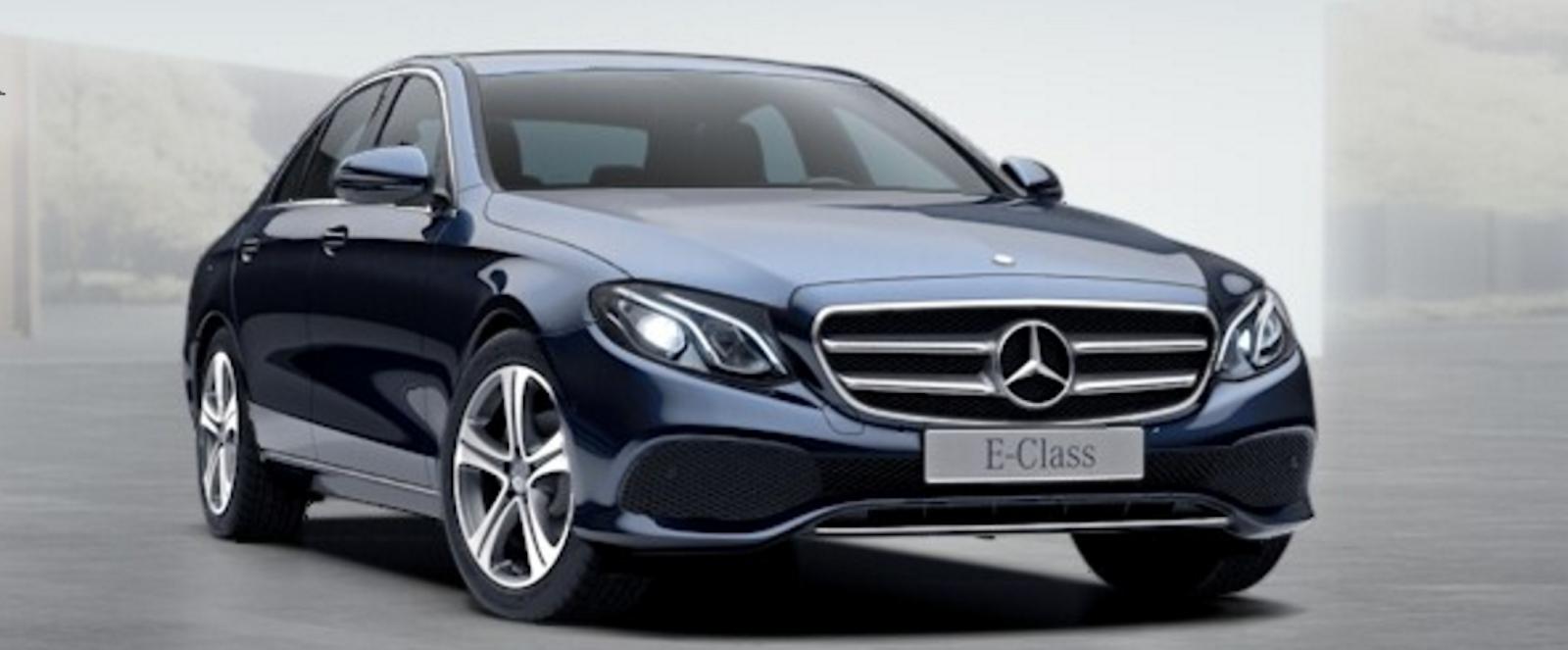 Mercedes Metallic Paint Colours