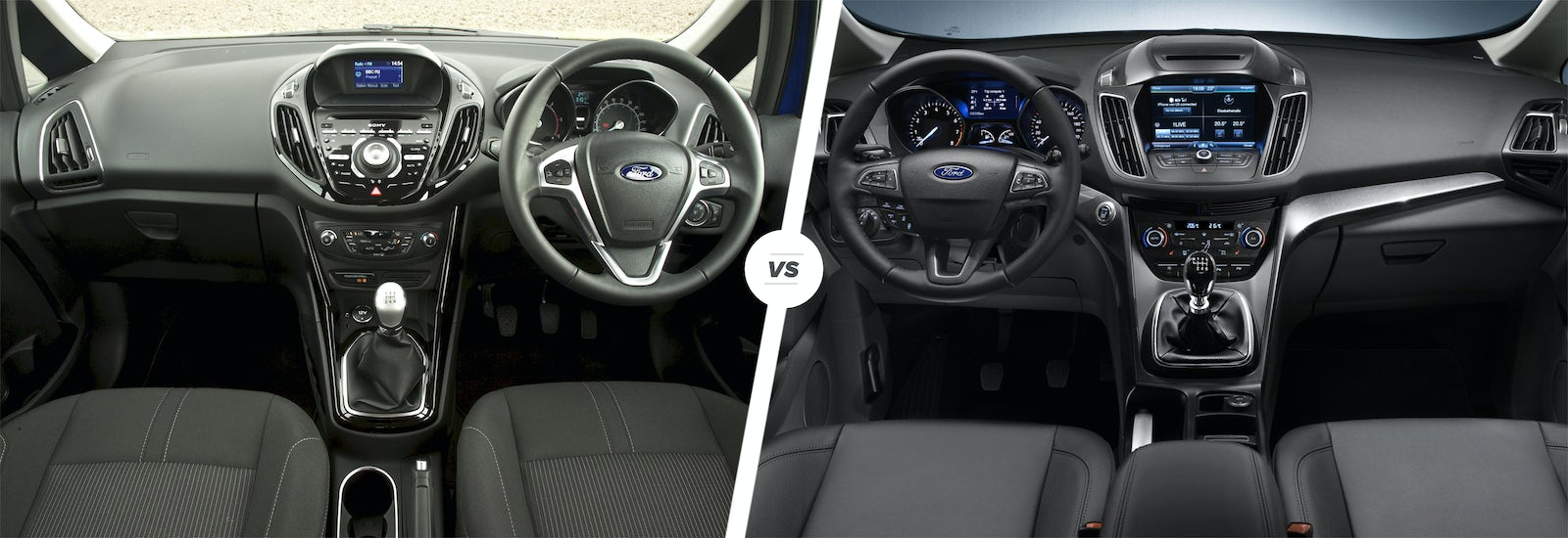 ford b max vs c max mpv face off which wins carwow. Black Bedroom Furniture Sets. Home Design Ideas