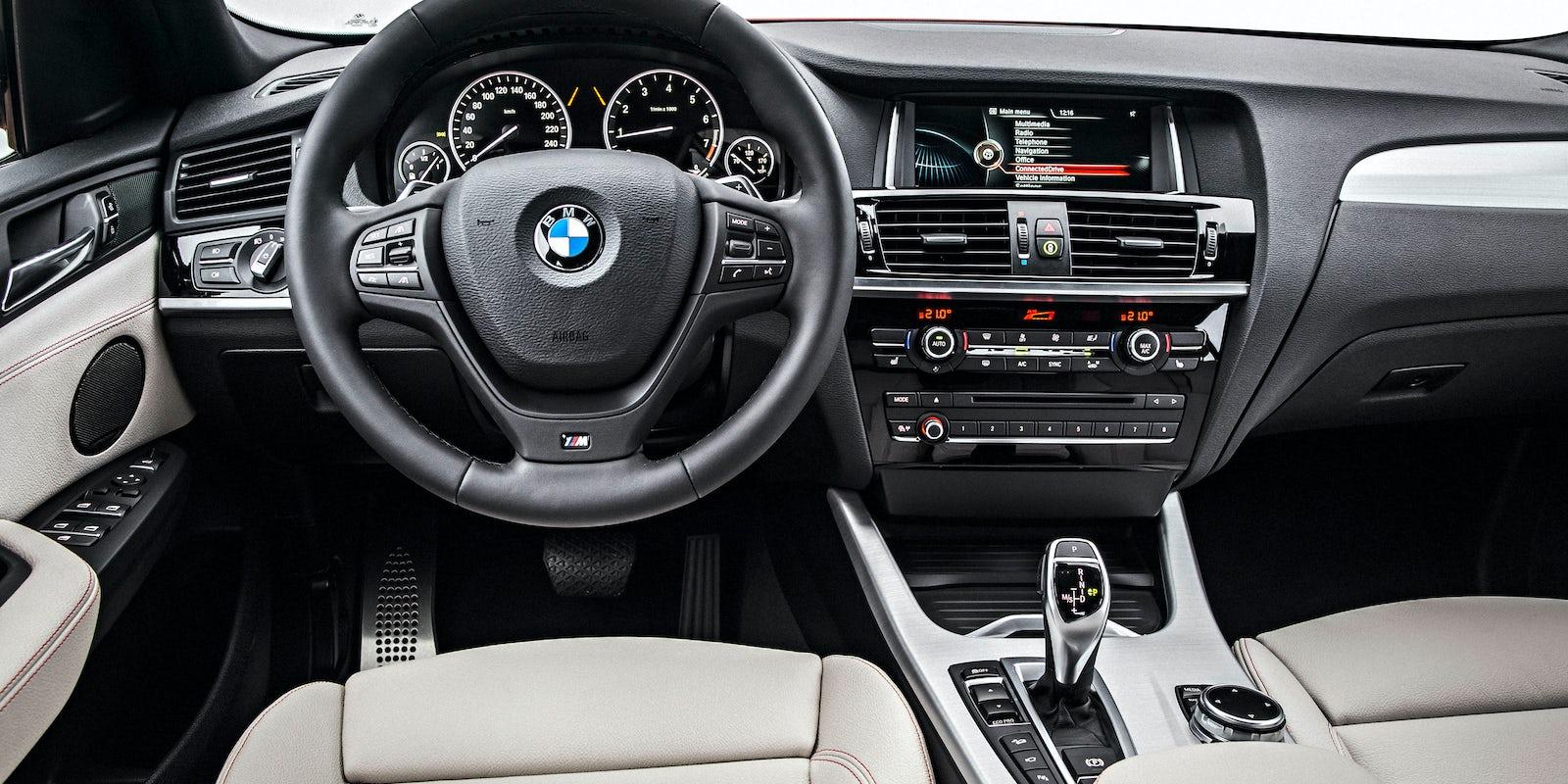 BMW X4 (2014-2017) Interior & Infotainment | carwow