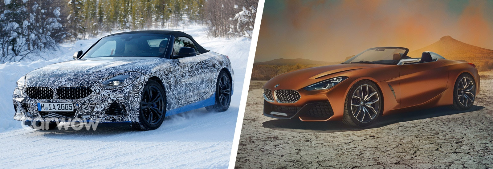 The Z4, Left, Will Be Inspired By The Z4 Concept, Rightu2026