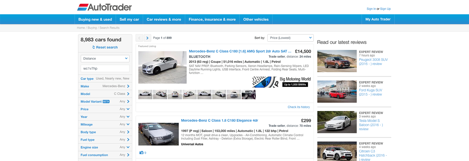 Buy Used Car From Private Seller Site