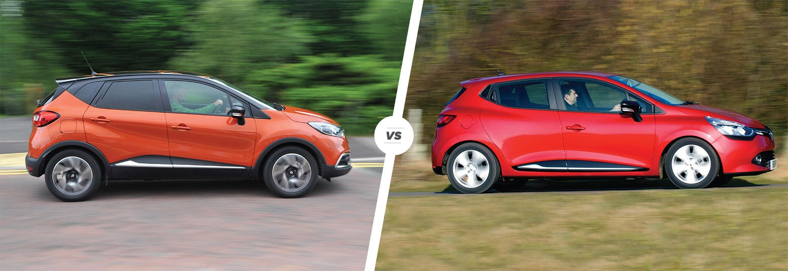 Renault Captur Vs Clio Sibling Show Down Carwow