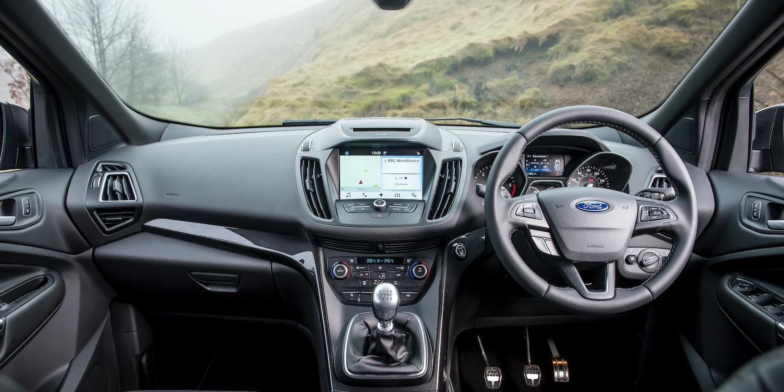 Ford Kuga Interior & Infotainment | carwow