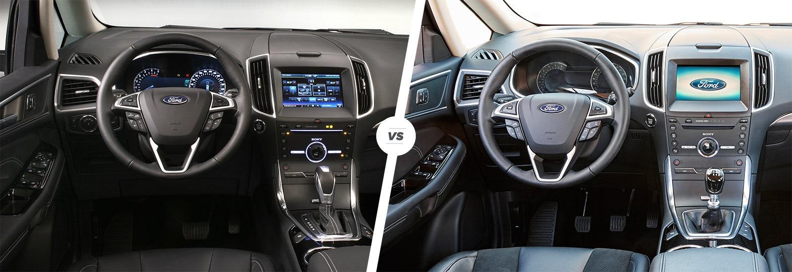 Ford Galaxy Vs S Max Interior