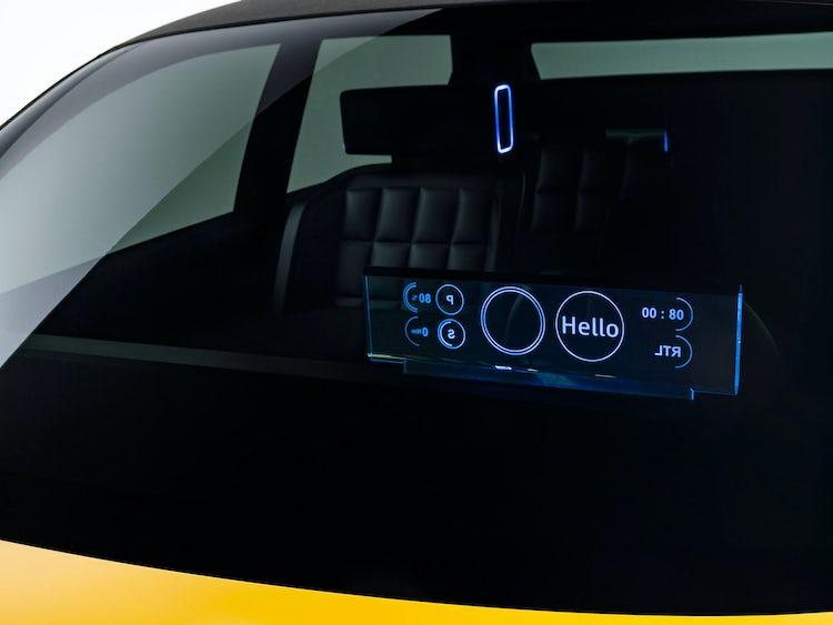 interior  Renault 5 electrico
