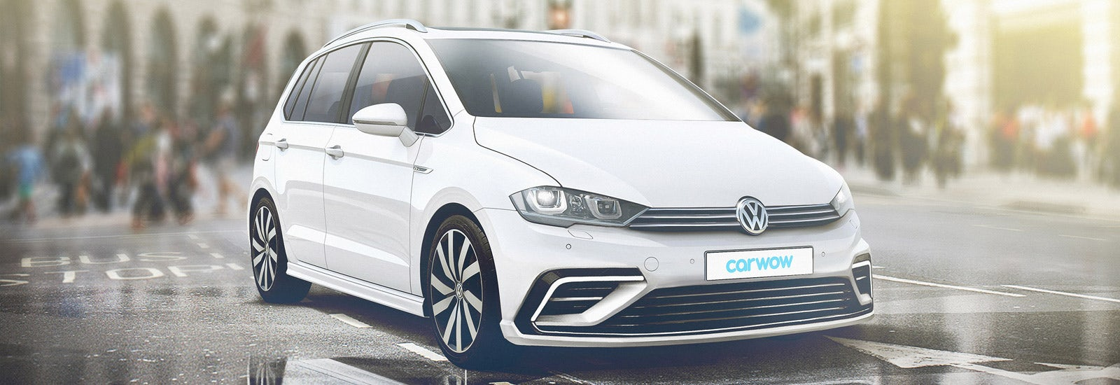 2019 New Vw Golf Sv Mk8 Render By Carwow