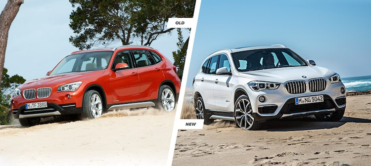 2015 Bmw X1 Old Vs New Compared Carwow